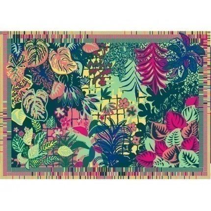 Tapisserie Jungle Aubusson Création Multicolore Tapisserie Sahi Aubusson Création