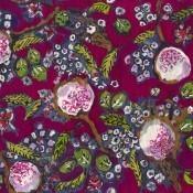 Tissu Bagatelle Fuchsia Lalie Design