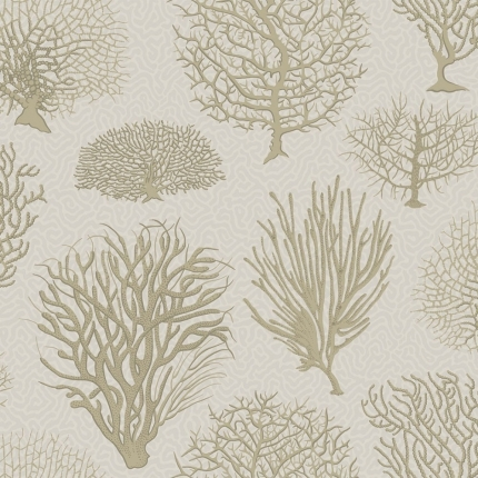 Papier peint Seafern Cole and Son Stone 107/2010 Cole and Son