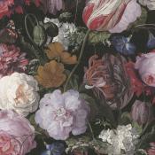 Papier peint Flowers de Heem Black Eijffinger