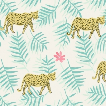 Papier peint Tropical Jungle Black Eijffinger