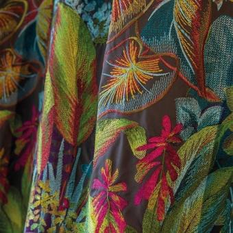 Tissu brodé Selva Printemps Matthew Williamson