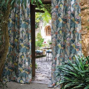 Tissu Cactus Garden Azur Matthew Williamson