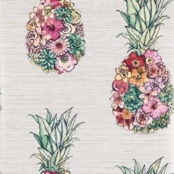 Papier peint Ananas Lin Matthew Williamson