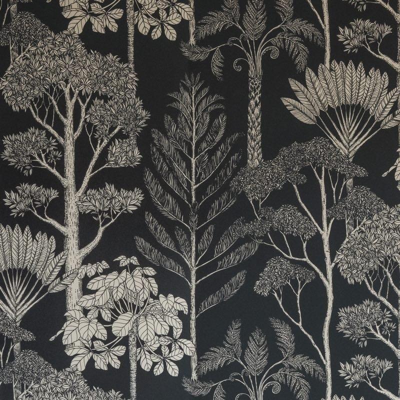 papier peint trees ferm living. Black Bedroom Furniture Sets. Home Design Ideas