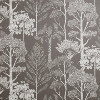 Trees Wallpaper Brown/Grey Ferm Living