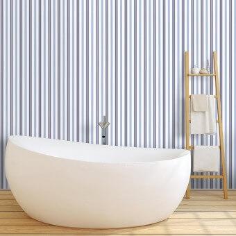 Basil Stripe Wallpaper Laurel Ralph Lauren