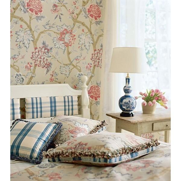 Thibaut Fabrics And Wallpapers: Pondicherry Thibaut Wallpaper
