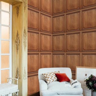 Boiserie Wallpaper Aloe Coordonné