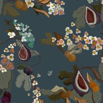 Papier peint Fruits Safran Coordonné