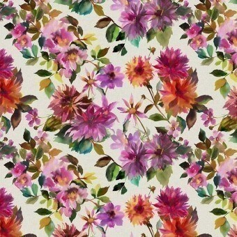 Manchu Outdoor Fabric Fuchsia Designers Guild