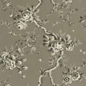 Papier peint Ashfield Floral Etched black Ralph Lauren