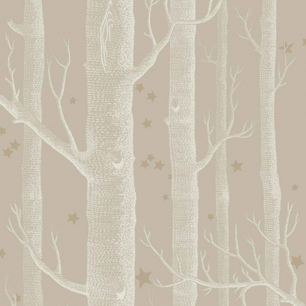 Papier peint Woods and Stars Cole and Son  Linen 103/11047 Cole and Son