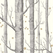 Papier peint Woods and Stars  Linen Cole and Son