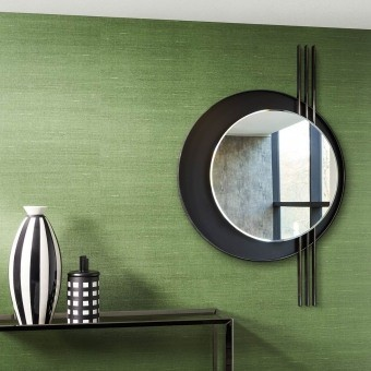 Latus Wallcovering Anthracite Arte