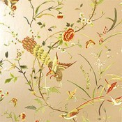 Papier peint Cantonese Brown Thibaut