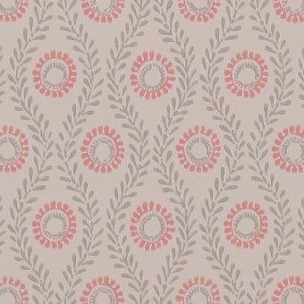Swift Wallpaper Beige Colefax and Fowler