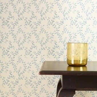 Papier peint Leafberry Blue Colefax and Fowler