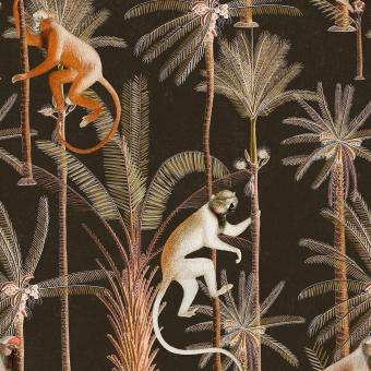 Barbados Anthracite Fabric Green/Orange/Anthracite Mindthegap