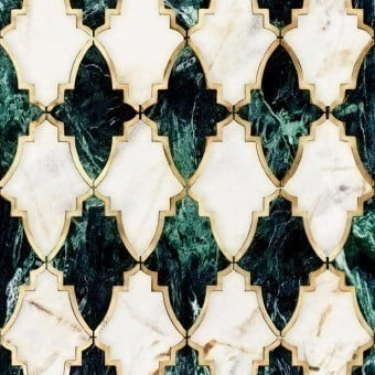 Empire Metallic Wallpaper Emerald Mindthegap