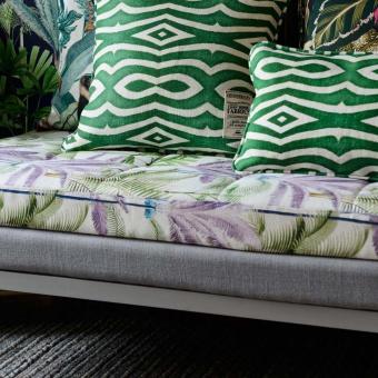 Palmeras Fabric Green/pink/Purple Mindthegap