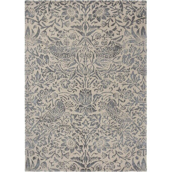Pure Strawberry Thief Ink Rug 140x200 cm Morris and Co
