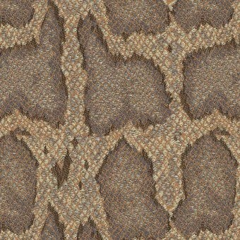 Serpentis jacquard Fabric Taupe House of Hackney