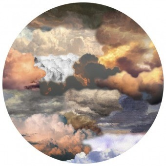 Tapis Walking on Clouds soft Dusk rond 250 cm MOOOI