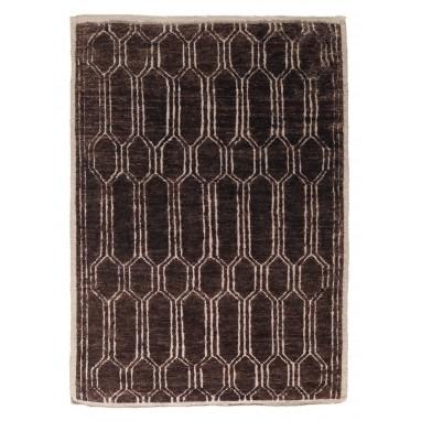 Tapis Tangier Chocolat 200x300 cm Nobilis