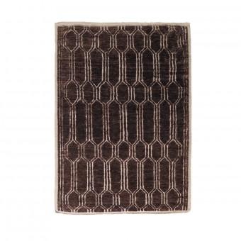 Tapis Tangier Chocolat 170x240 cm Nobilis