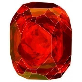 Tapis Crystal Red 228x287 cm MOOOI