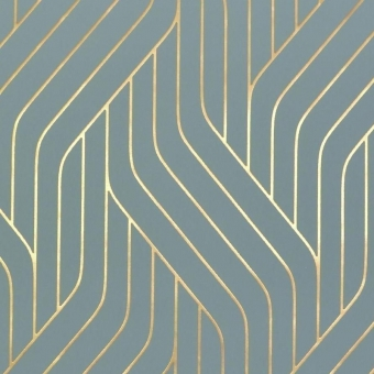 Ebb and Flow Wallpaper Almond/Gold York Wallcoverings
