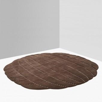 Tapis Padded Round Design Bear Nodus