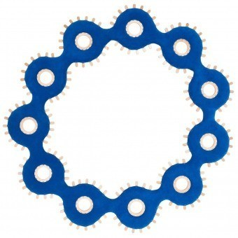 Tapis Collana Blue Nodus