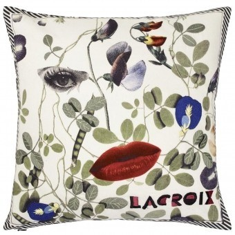Dame Nature Cushion Printemps Christian Lacroix
