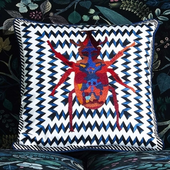 Beetle Waves Cushion Mulicolore Christian Lacroix