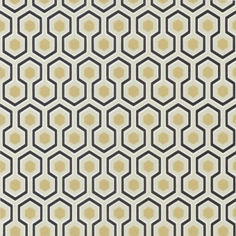 Hicks' Hexagon Wallpaper Bleu Cole and Son