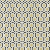 Papier peint Hicks' Hexagon Rose Cole and Son