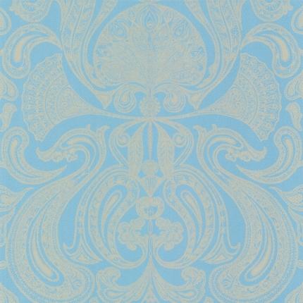 Papier peint Malabar Cole and Son Bleu Clair 66/1001 Cole and Son