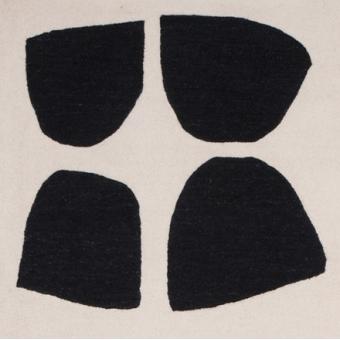 Variations Rug Black/White Christopher Farr