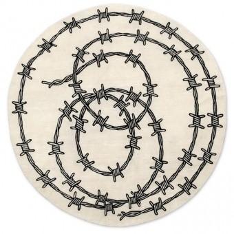 Tapis Barbed Wire Beige Nodus