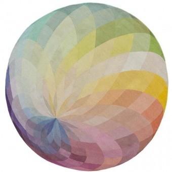 Tapis Spin 1 Multicolore Nodus
