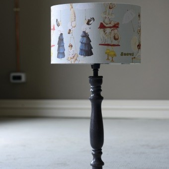 The Great Show Blue Lampshade d35xh22 cm Mindthegap