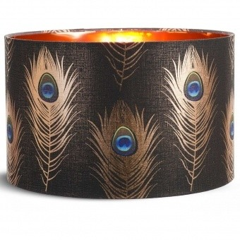 Peacock Feathers Lampshade d35xh22 cm Mindthegap