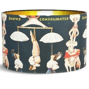 The Great Show Black Lampshade d35xh22 cm Mindthegap