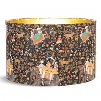 Abat-jour Hindustan Anthracite d35xh22 cm Mindthegap