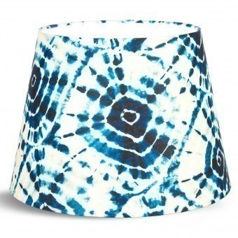 Shibori Swirls Lampshade Cone d35xd25xh25 cm Mindthegap