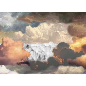 Walking on Clouds Dawn paysage Rug 300x200 cm MOOOI