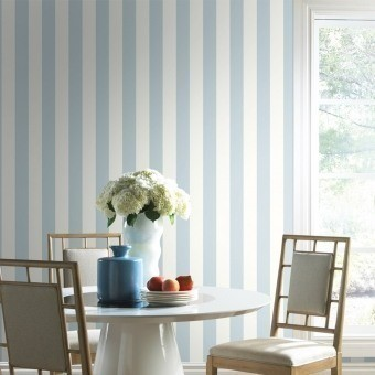 """3"""" Stripe Wallpaper Beige York Wallcoverings"""