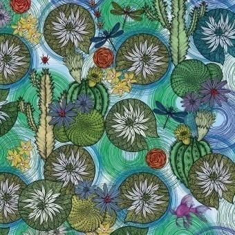 Crépuscule Panel Juillet Etoffe.com x M.Cailloux